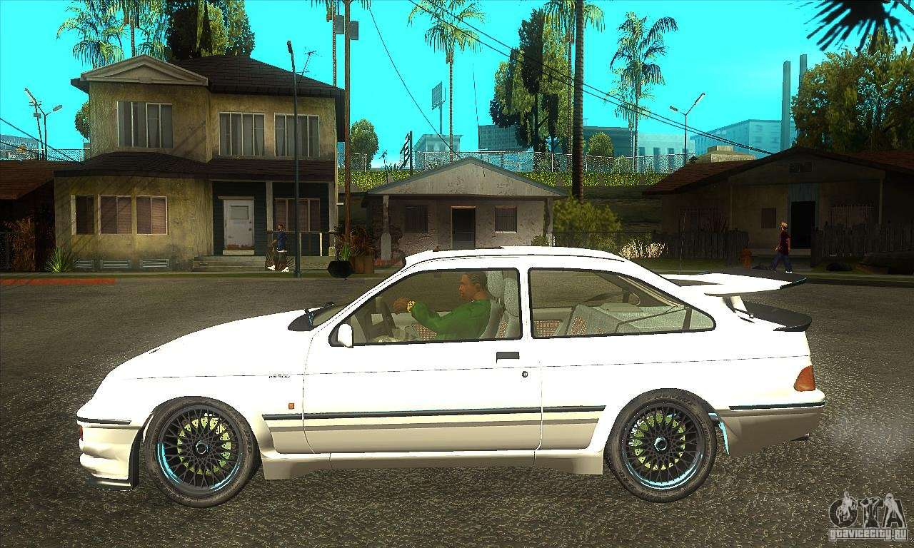 ford sierra rs500 cosworth 1987 for gta san andreas. Black Bedroom Furniture Sets. Home Design Ideas