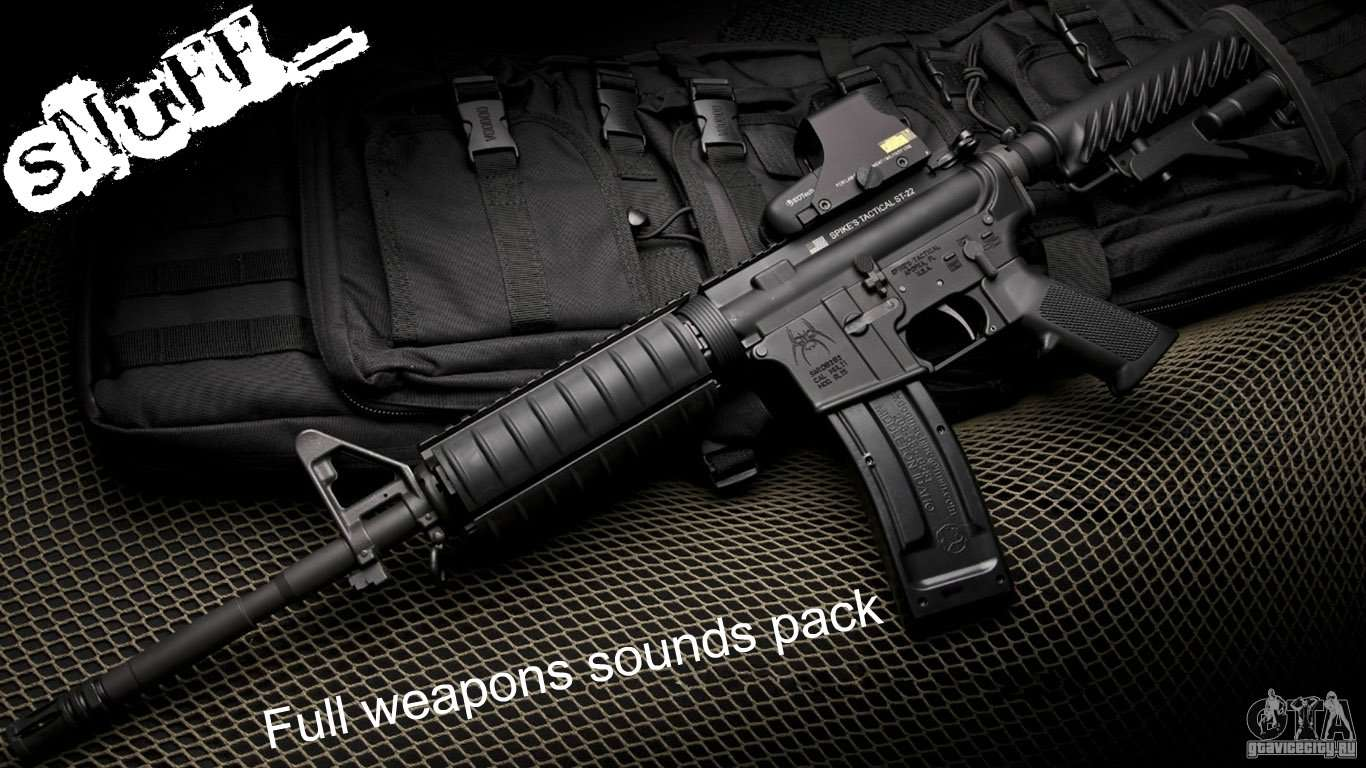 Full Weapons Sounds Pack By SNuFF