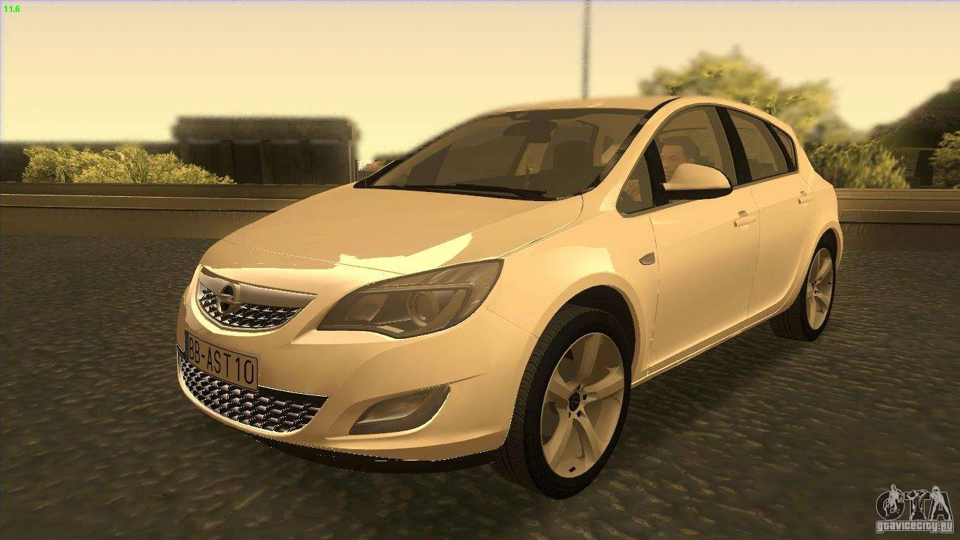 opel astra 2010 for gta san andreas. Black Bedroom Furniture Sets. Home Design Ideas