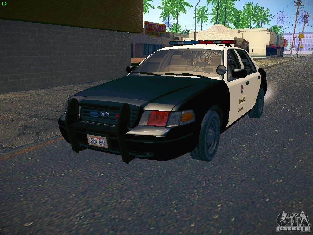 ford crown victoria police intercopter for gta san andreas. Black Bedroom Furniture Sets. Home Design Ideas