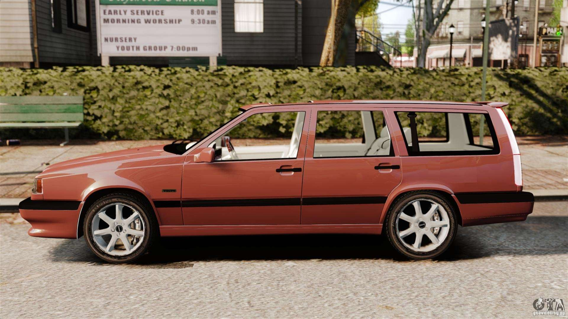 volvo 850 wagon 1997 for gta 4. Black Bedroom Furniture Sets. Home Design Ideas