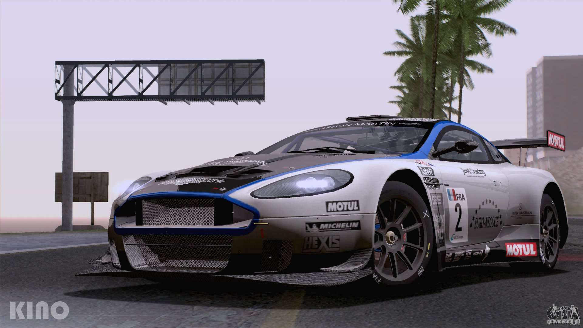 aston martin racing dbrs9 gt3 for gta san andreas. Black Bedroom Furniture Sets. Home Design Ideas