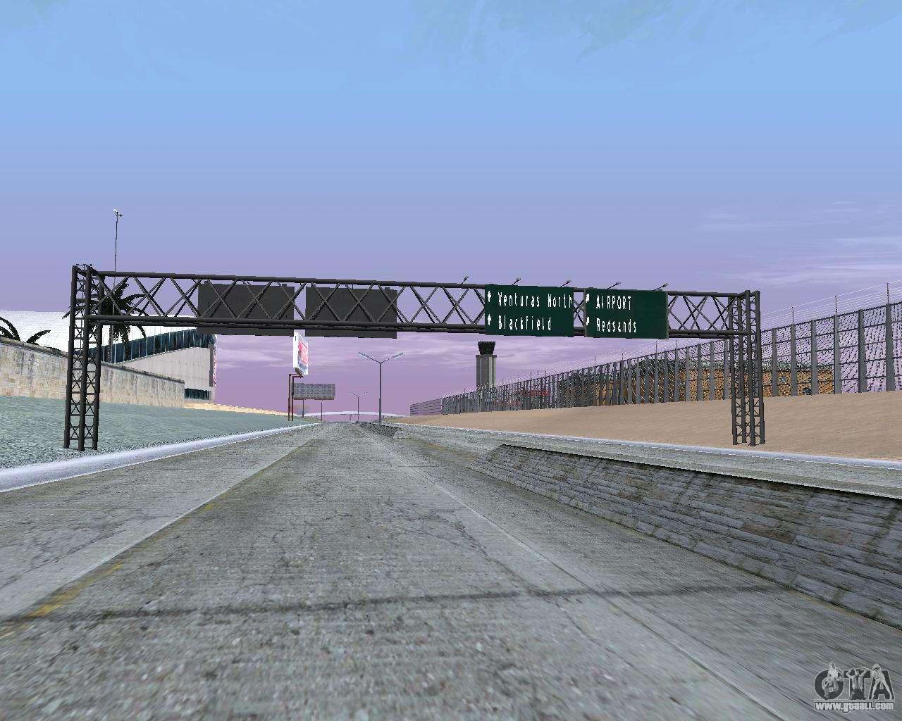 Road Signs V1 2 For Gta San Andreas