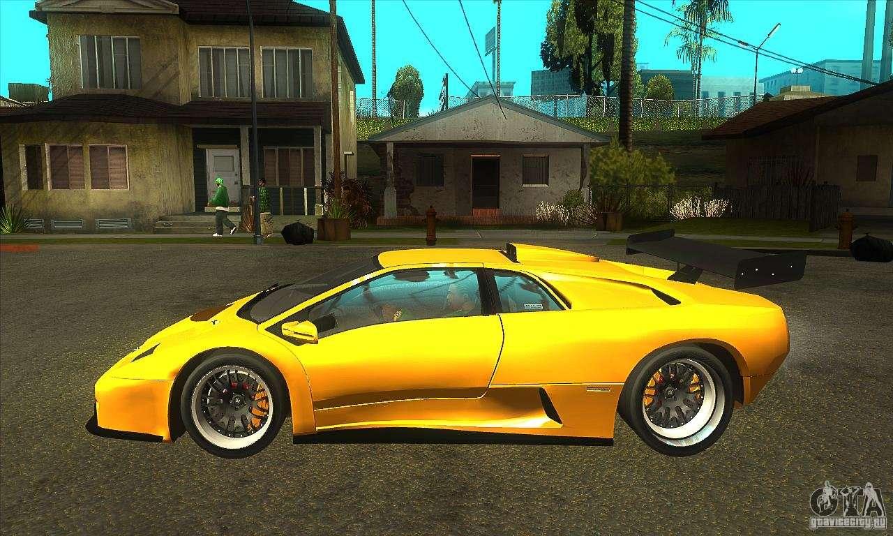 Lamborghini Diablo Gt R 1999 For Gta San Andreas