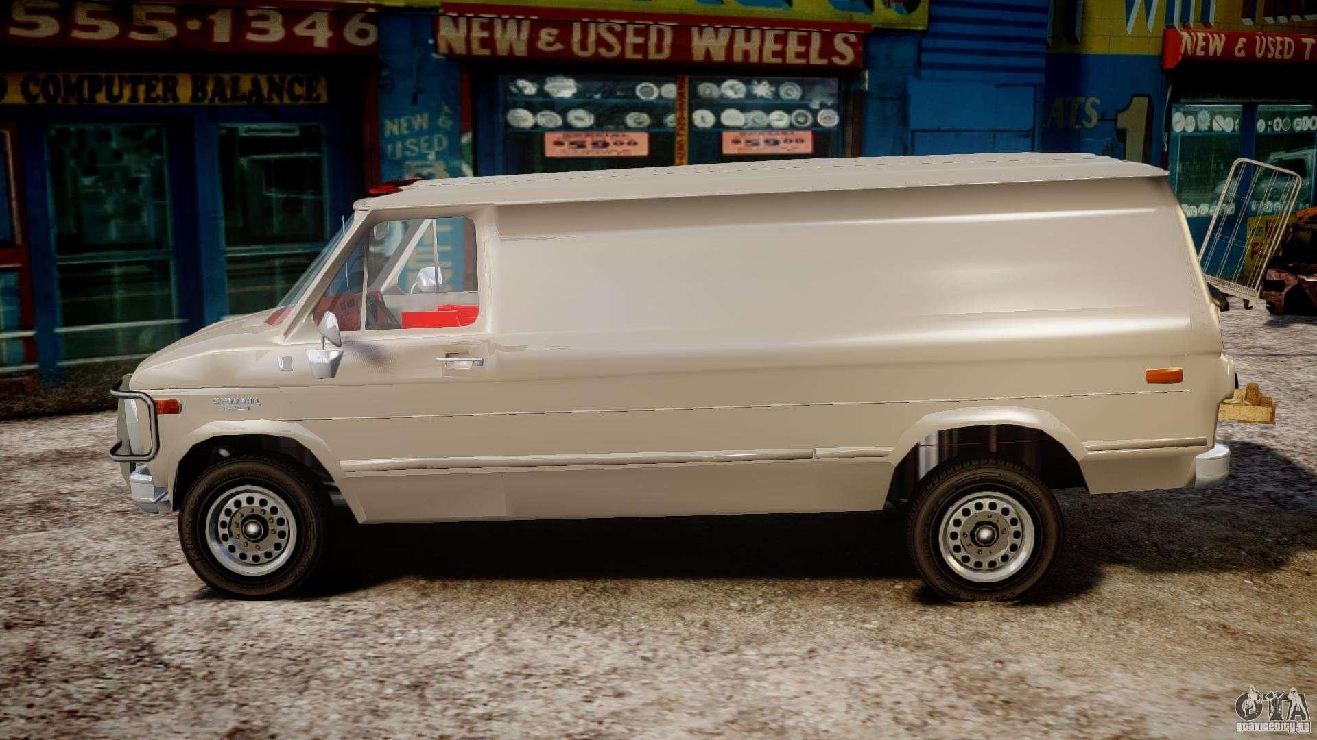 chevrolet g20 vans v1 1 for gta 4. Black Bedroom Furniture Sets. Home Design Ideas