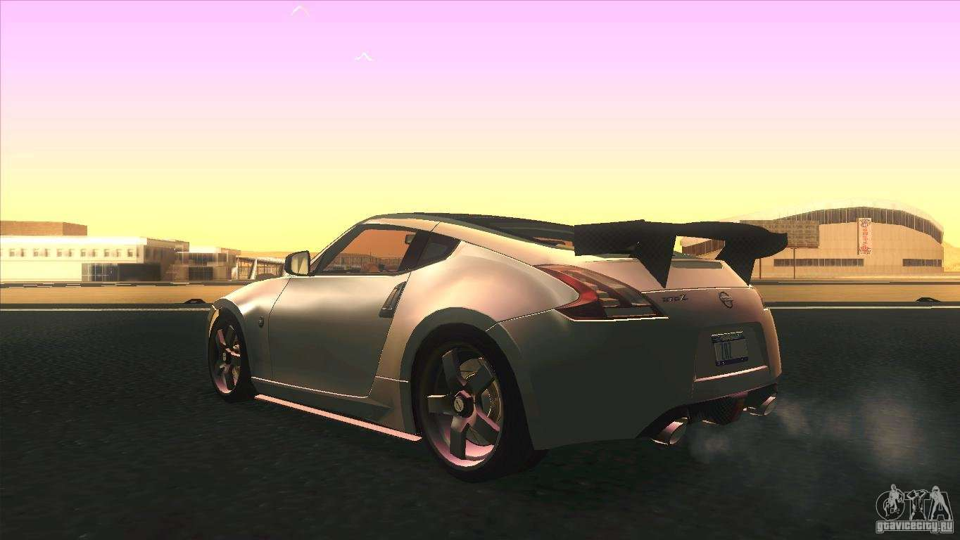 nissan 370z drift 2009 v1 0 for gta san andreas. Black Bedroom Furniture Sets. Home Design Ideas