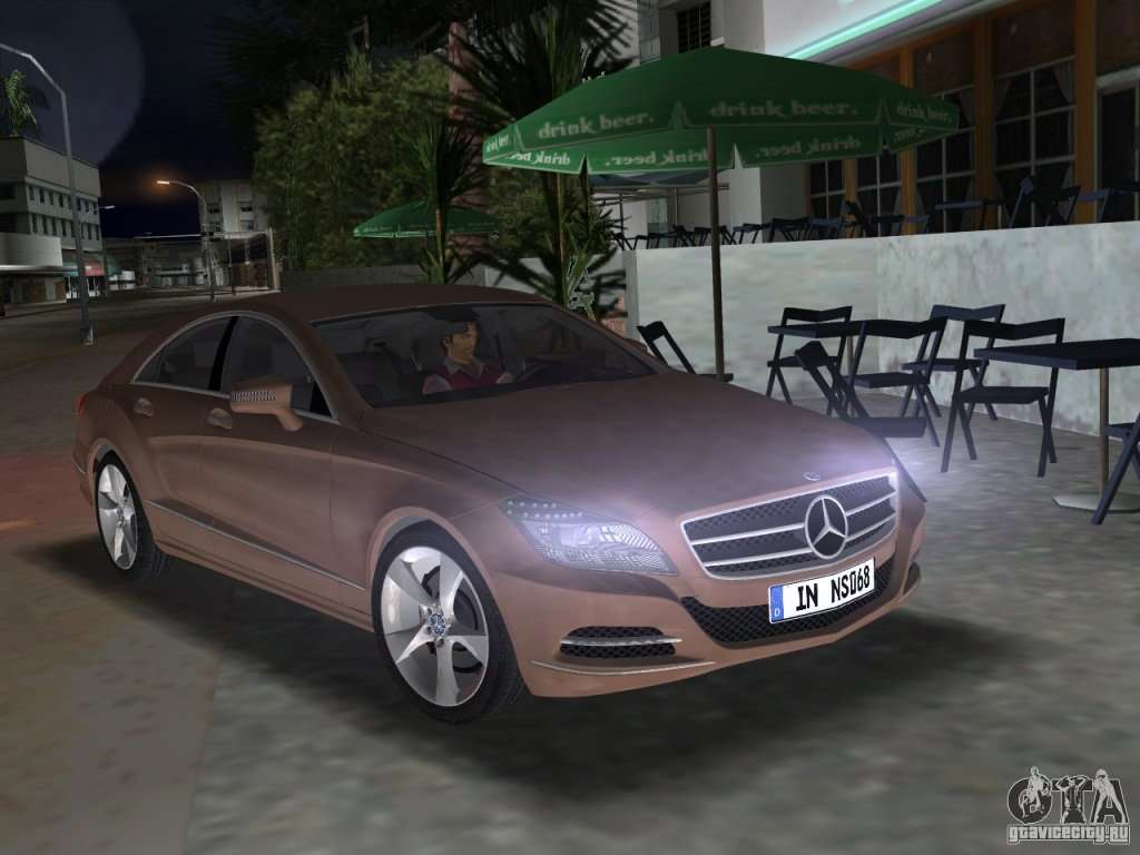 Mercedes benz cls350 for gta vice city for Mercedes benz gta