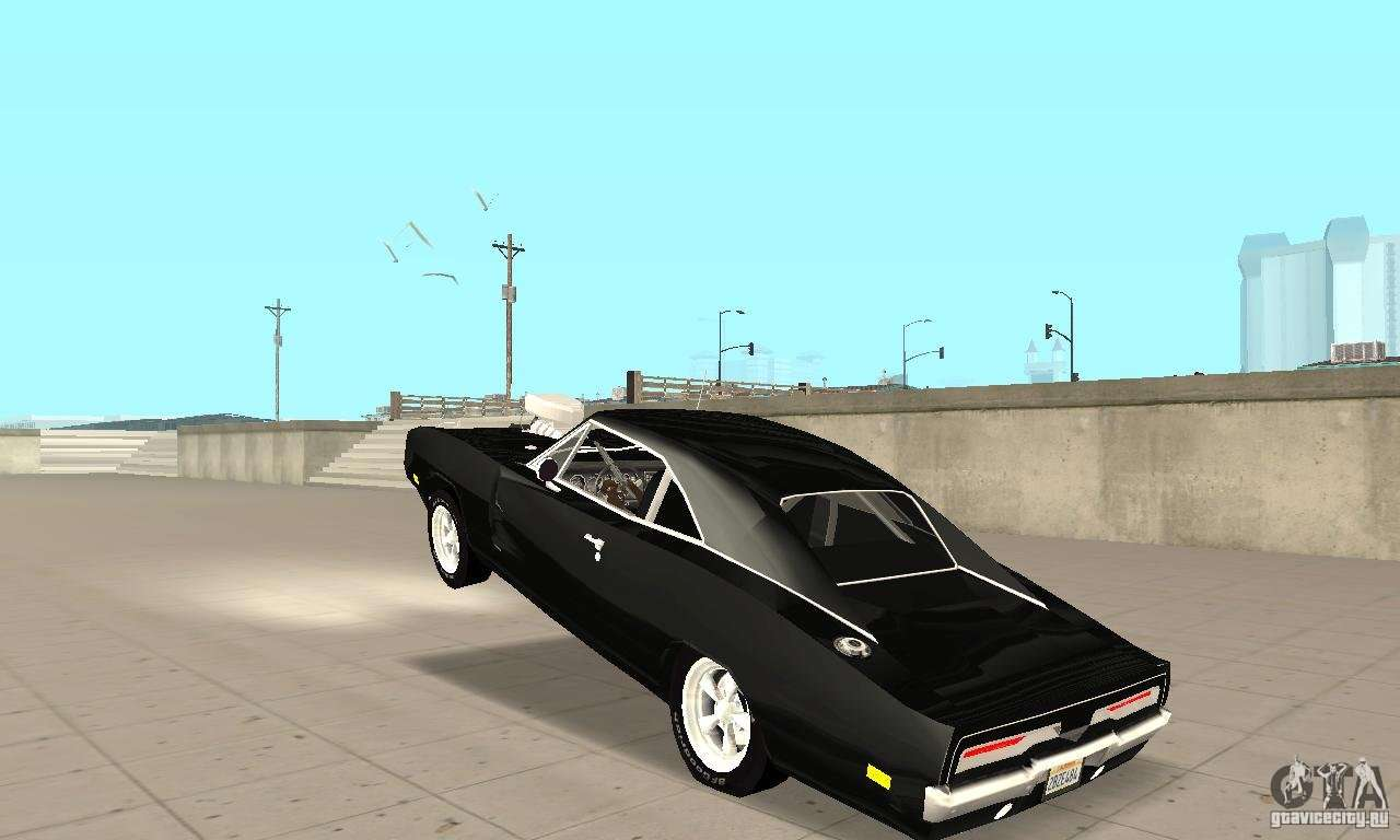 Dodge Charger Rt 1970 The Fast Amp The Furious For Gta San