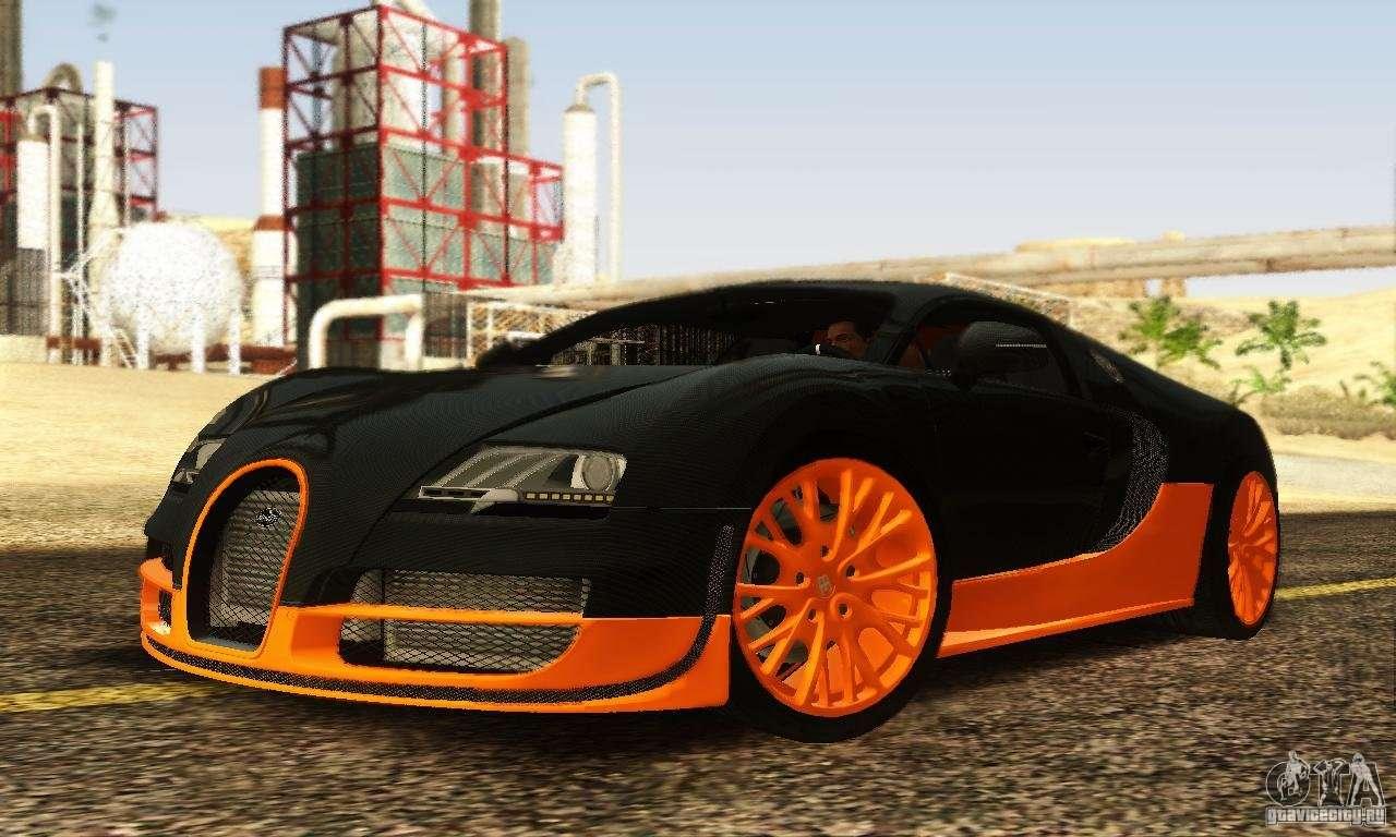 bugatti veyron supersport for gta san andreas. Black Bedroom Furniture Sets. Home Design Ideas