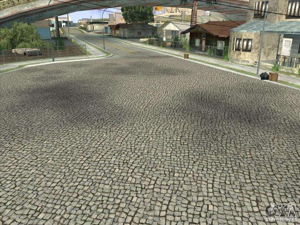 Grove Street Retextured For Gta San Andreas
