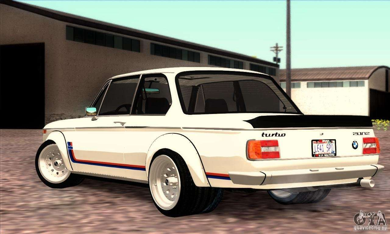 bmw 2002 turbo for gta san andreas. Black Bedroom Furniture Sets. Home Design Ideas