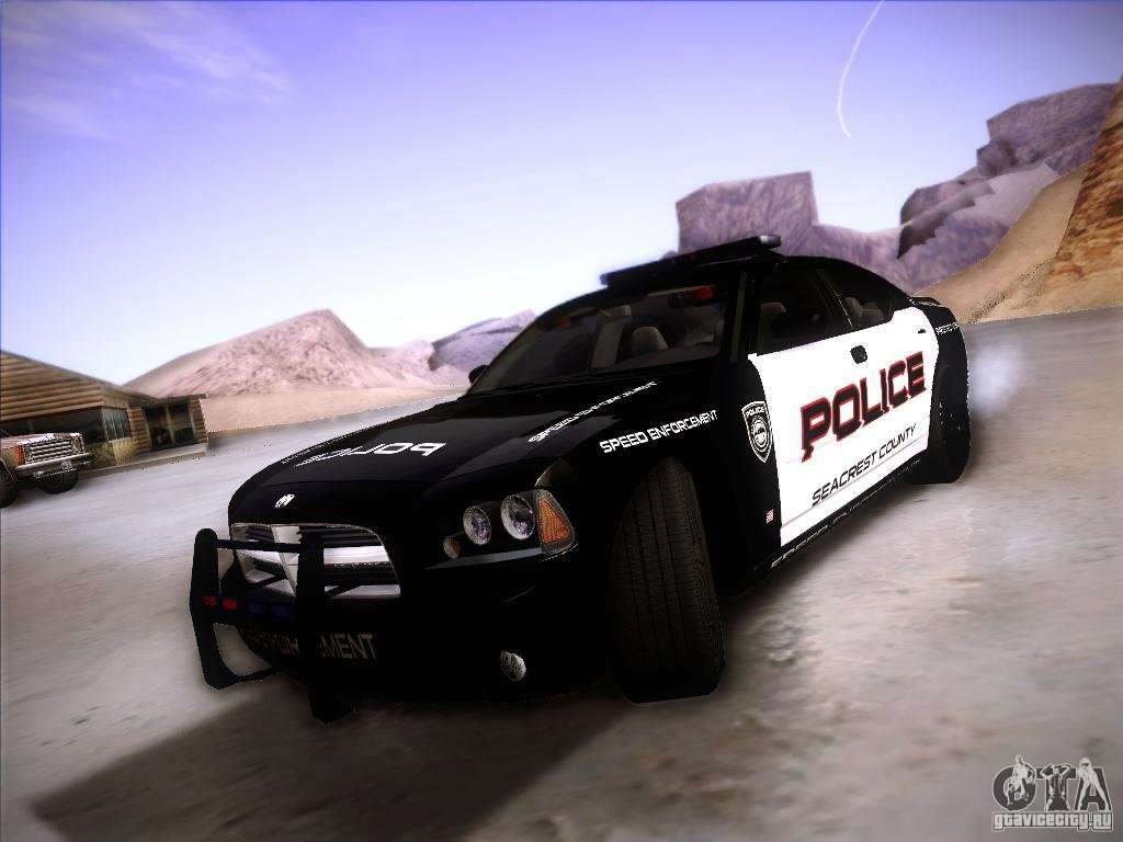 Dodge Charger Rt Police Speed Enforcement For Gta San Andreas