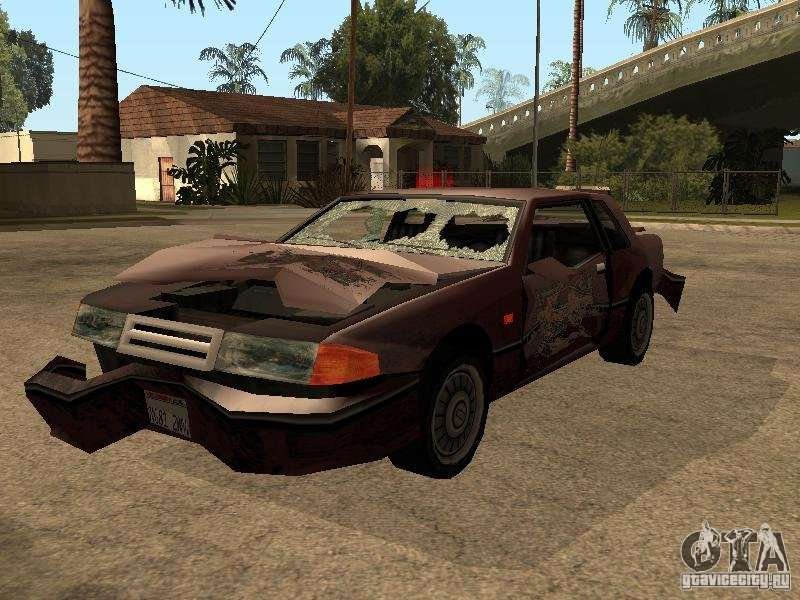 Gta Sa Crashed Car Mod