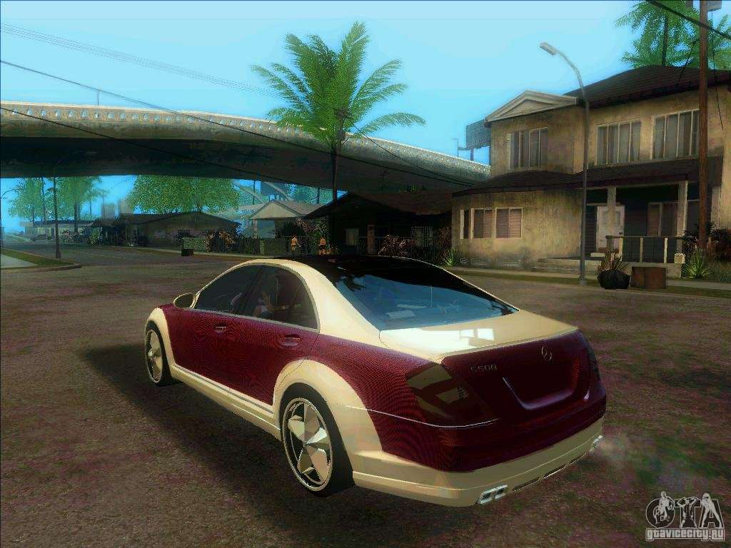 Mercedes benz s600 amg wcc edition for gta san andreas for Mercedes benz s 600 amg