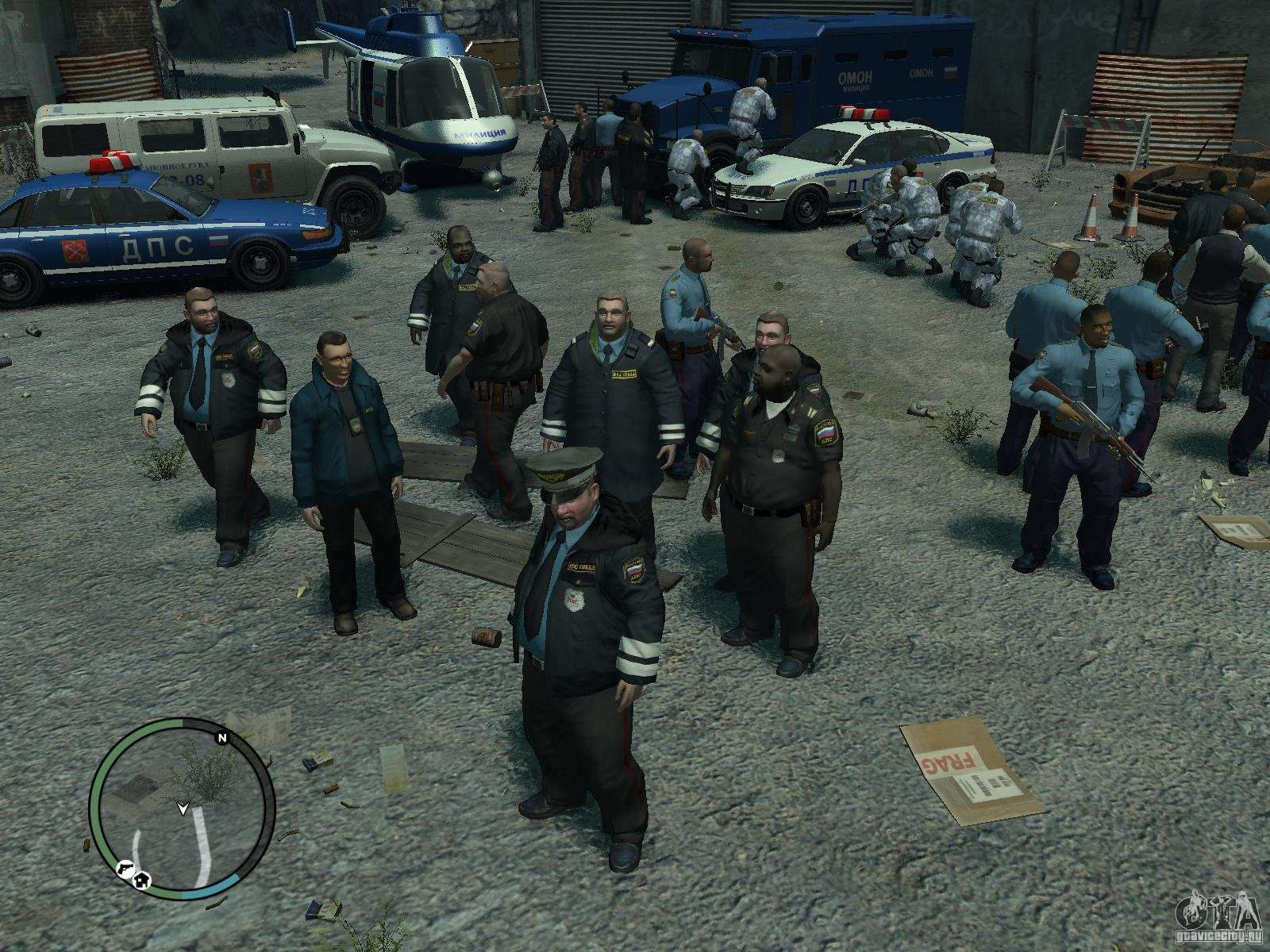 Russian cops for gta 4 for The russian mod