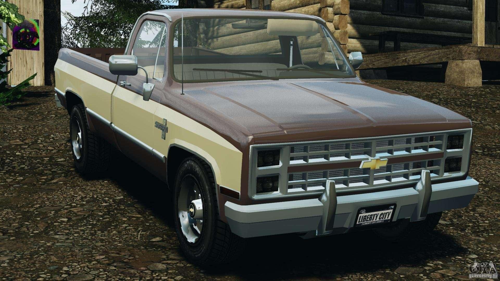 Chevrolet silverado 1986 for gta 4