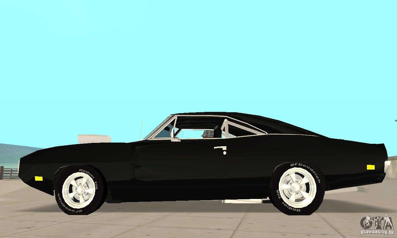 dodge charger rt 1970 the fast the furious for gta san andreas. Black Bedroom Furniture Sets. Home Design Ideas