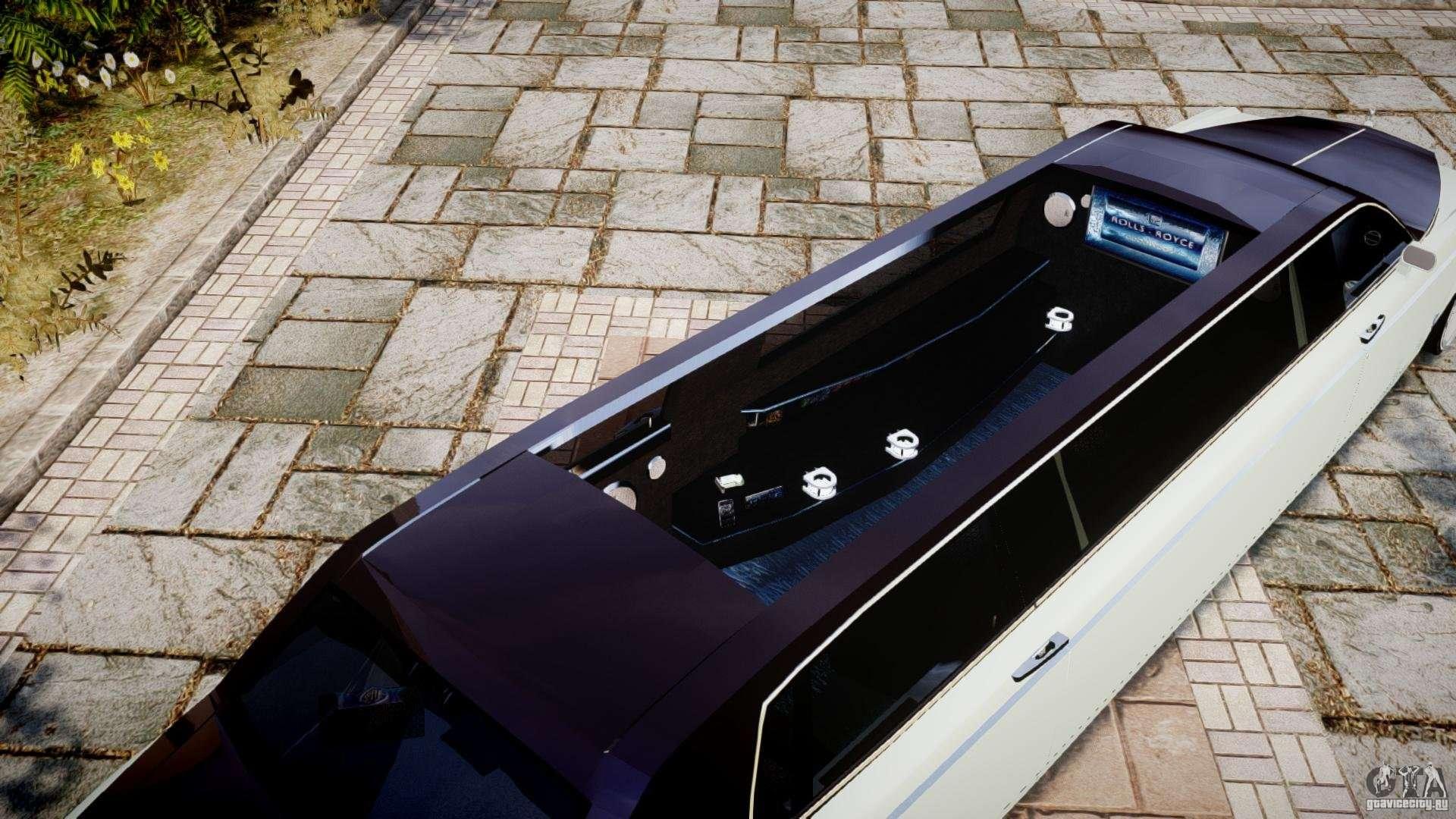 Rolls Royce Phantom Sapphire Limousine Disco For Gta 4