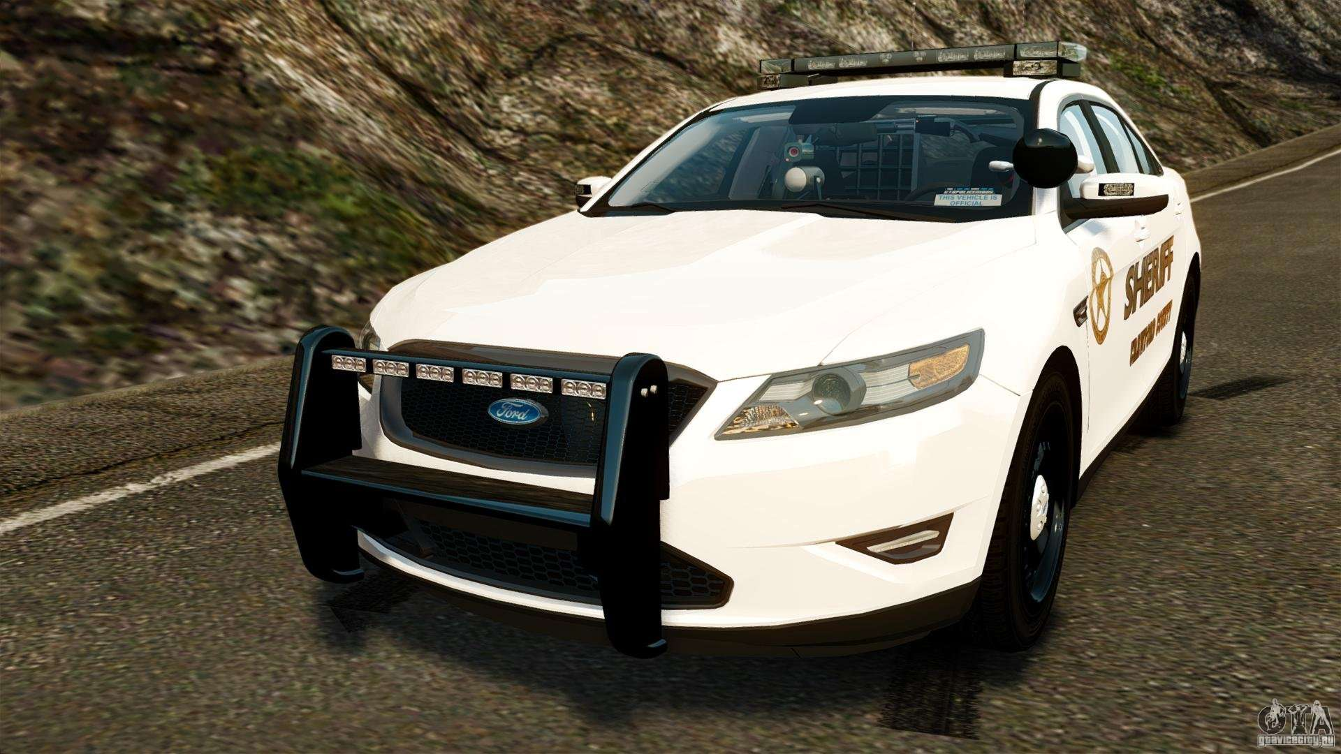 ford taurus 2010 ccso police els for gta 4. Black Bedroom Furniture Sets. Home Design Ideas