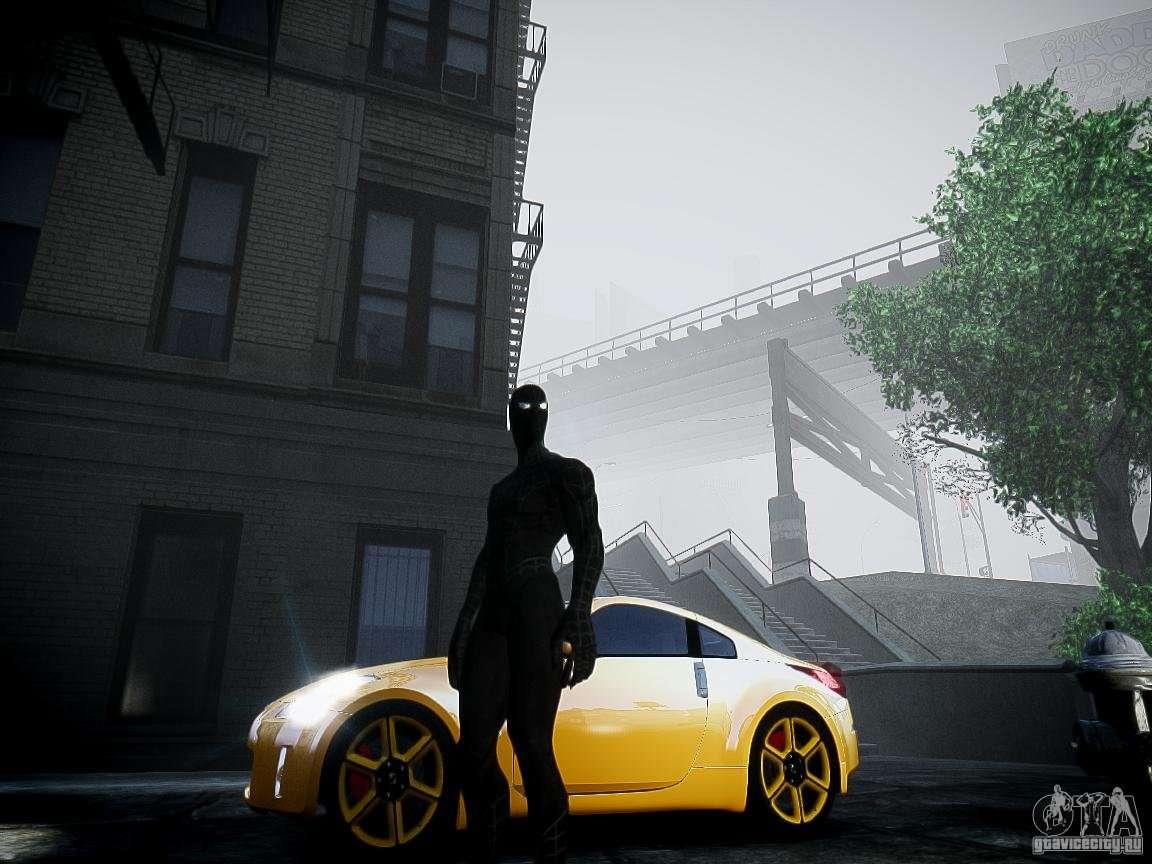 Spider Man Black Suit for GTA 4