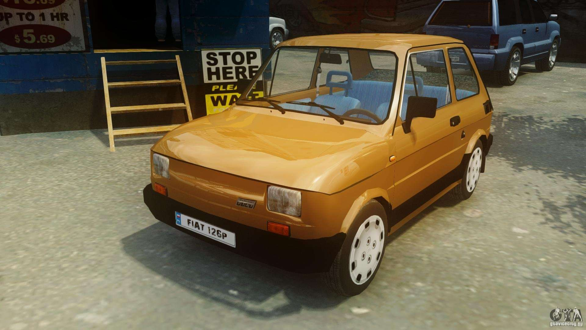 fiat 126p fl polski 1994 wheels 2 for gta 4. Black Bedroom Furniture Sets. Home Design Ideas