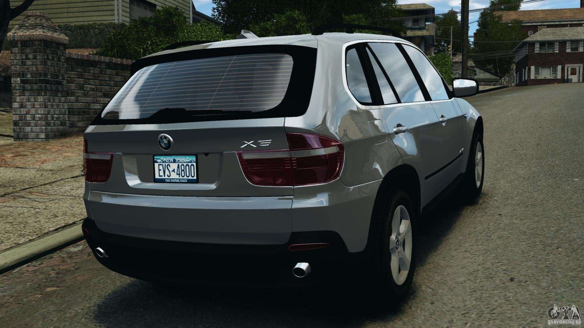 bmw x5 xdrive35d for gta 4. Black Bedroom Furniture Sets. Home Design Ideas