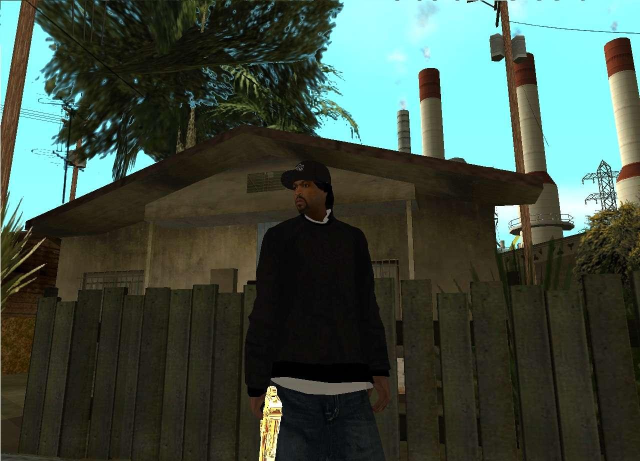 Ice Cube Gta sa Ice Cube For Gta San Andreas