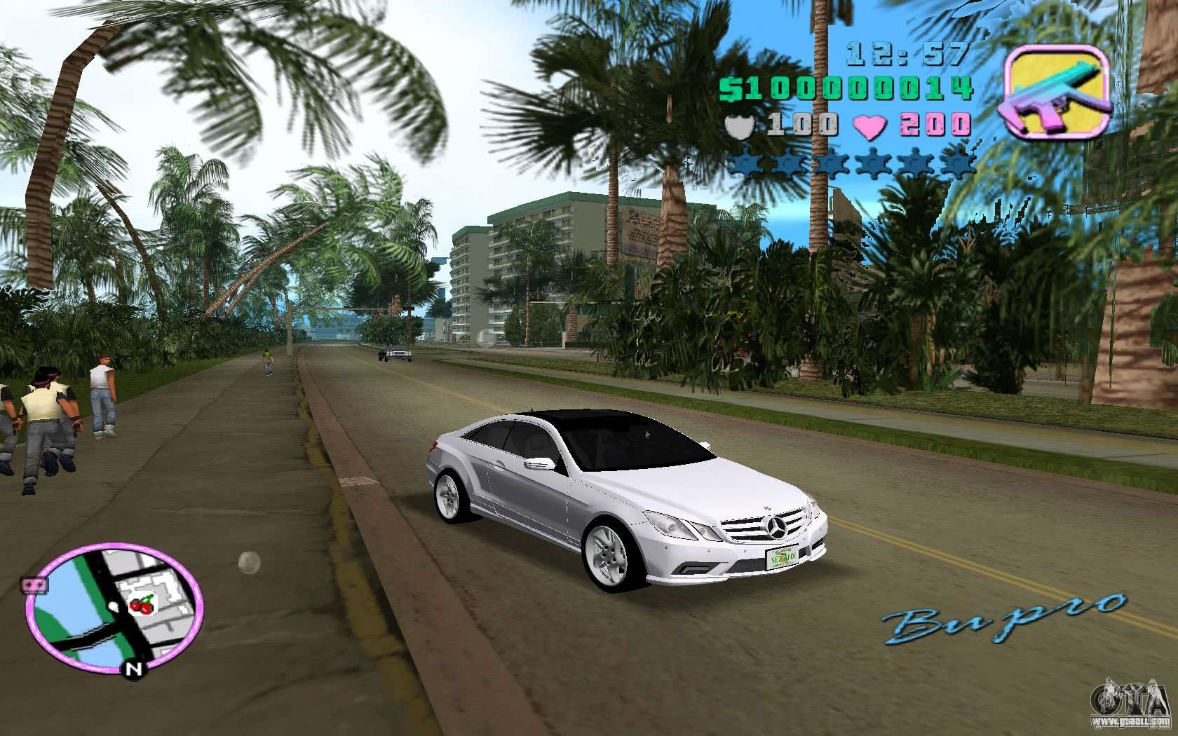 Gta Vice City Mercedes Car