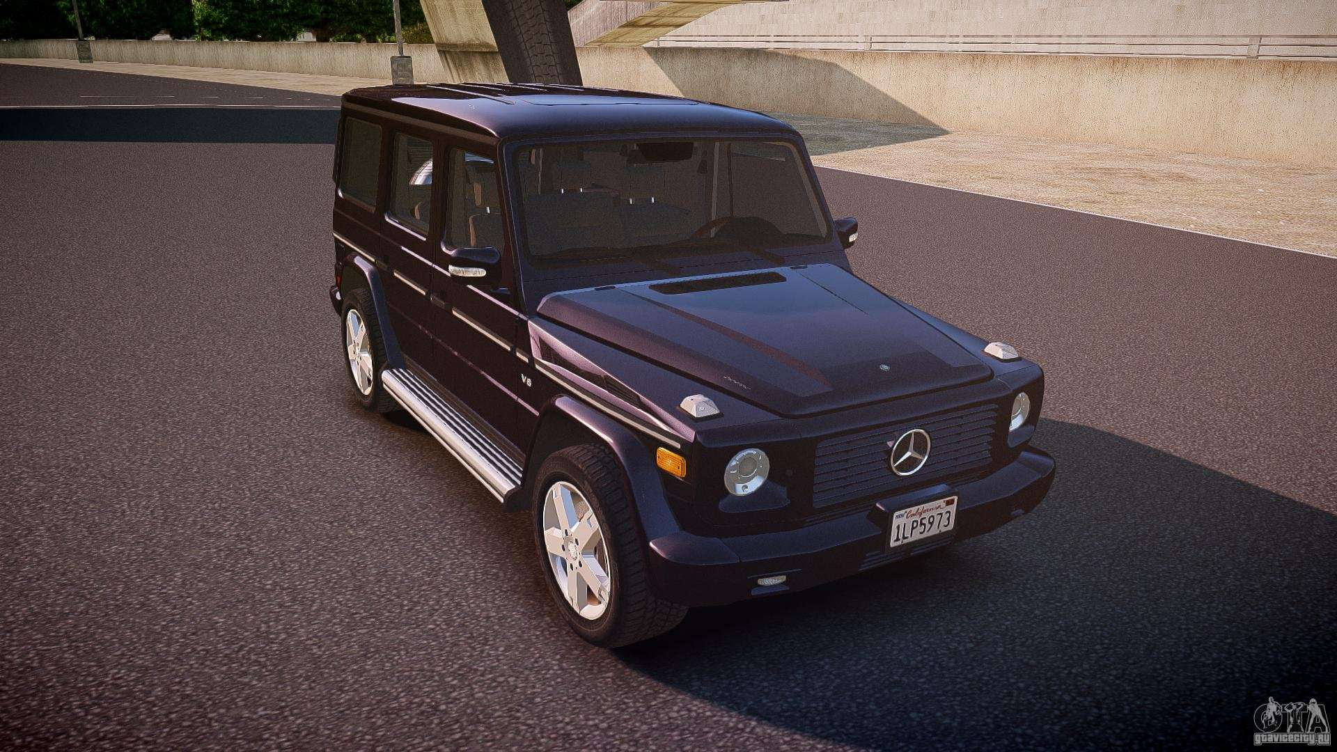 Mercedes benz g500 w463 2008 for gta 4 for Mercedes benz g500