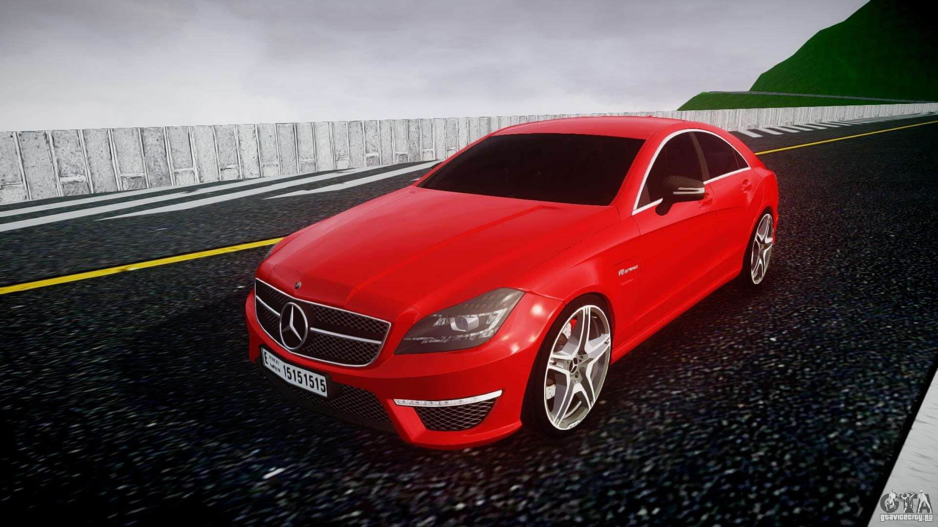 Mercedes benz cls 63 amg 2012 for gta 4 for 2012 mercedes benz cls