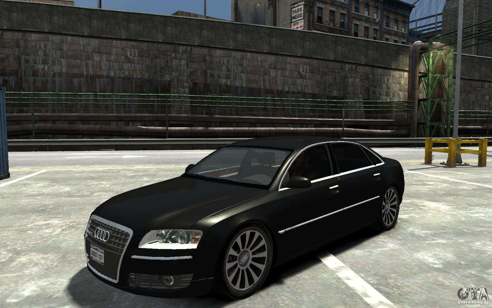 audi a8l w12 quattro for gta 4. Black Bedroom Furniture Sets. Home Design Ideas