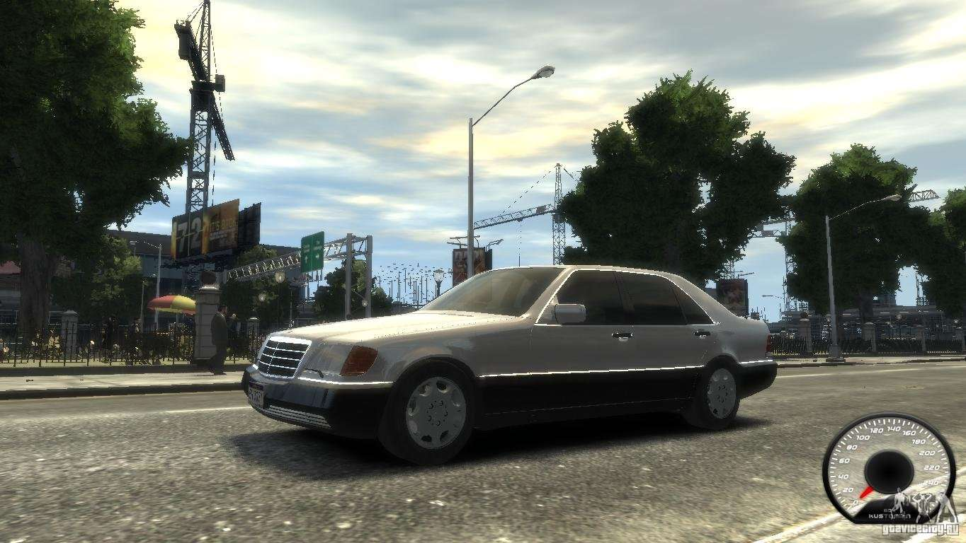 Mercedes Benz 600sel Wheel1 Tinted For Gta 4
