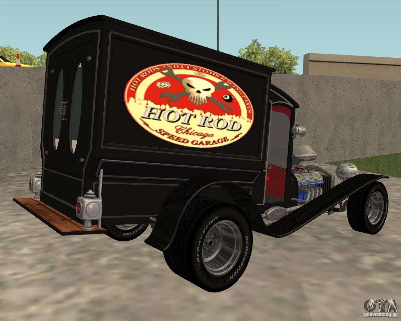 Ford Transit 250 >> Ford model T 1923 Ice cream truck for GTA San Andreas