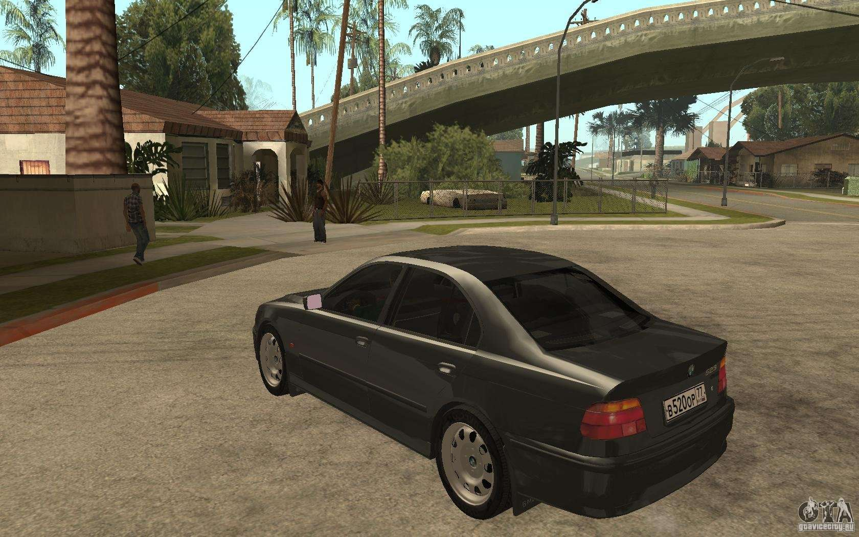 bmw 523i e39 1997 for gta san andreas. Black Bedroom Furniture Sets. Home Design Ideas