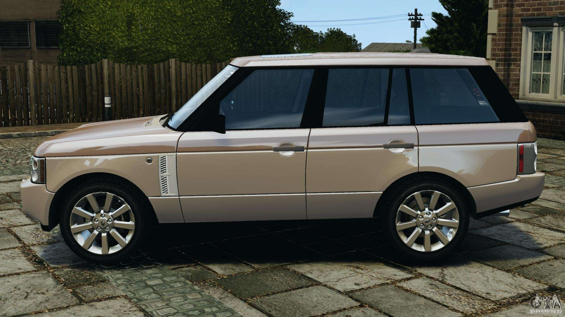 range rover supercharged 2008 for gta 4. Black Bedroom Furniture Sets. Home Design Ideas
