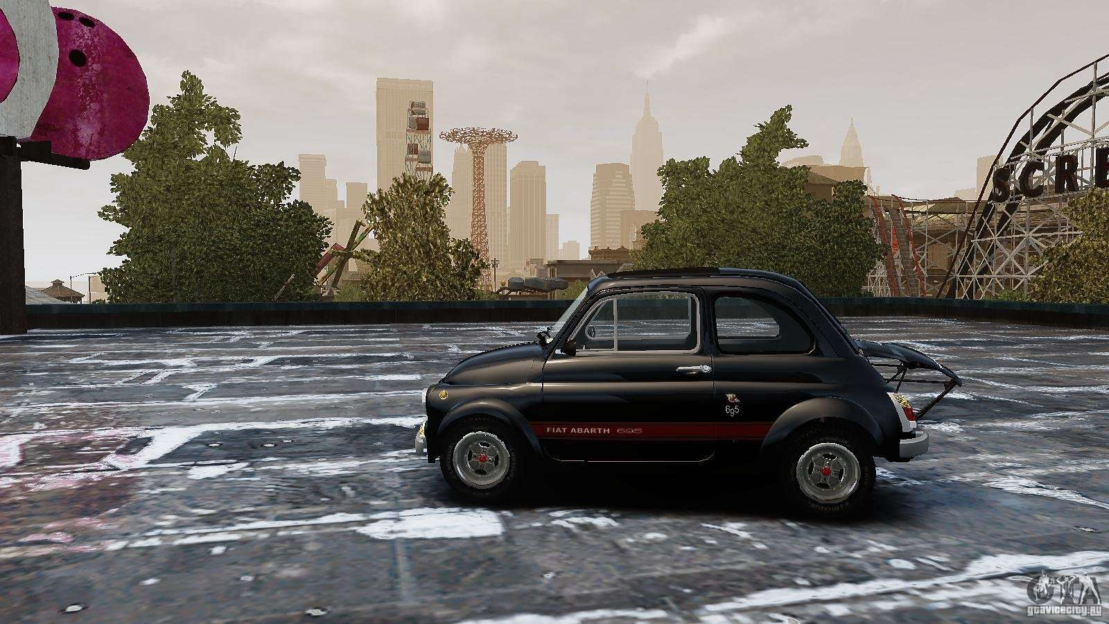 fiat 500 695 abarth for gta 4. Black Bedroom Furniture Sets. Home Design Ideas