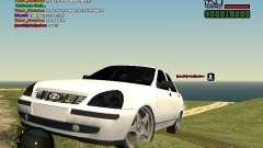 Lada Priora white for GTA San Andreas