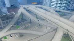 Concrete roads of Los Santos Beta