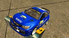 New vinyl to Subaru Impreza WRX STi