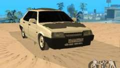 VAZ 21099 Winter for GTA San Andreas