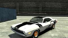 Dodge Challenger R/T Hemi 1970 for GTA 4