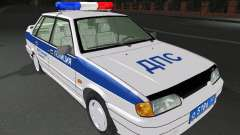 VAZ 2115 Police DPS for GTA San Andreas