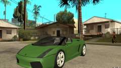 Lamborghini Gallardo Spyder for GTA San Andreas