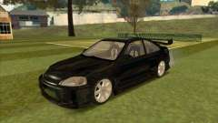 Honda Civic Coupe 1995 from FnF 1 for GTA San Andreas
