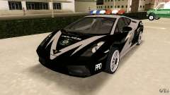 Lamborghini Gallardo Police for GTA Vice City