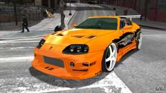 Toyota Supra Fast And Furious for GTA 4