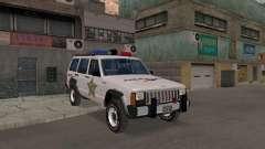 Jeep Cherokee Police 1988 for GTA San Andreas
