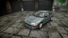 Honda CRX 1991 for GTA 4