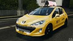 Peugeot 308 GTi 2011 Taxi v1.1 for GTA 4