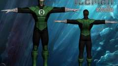 Green Lantern for GTA San Andreas